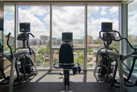 State-of-the-Art Fitness Center at Uptown Houston Apartments