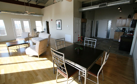 Resident Dining Area at 230 West Alabama