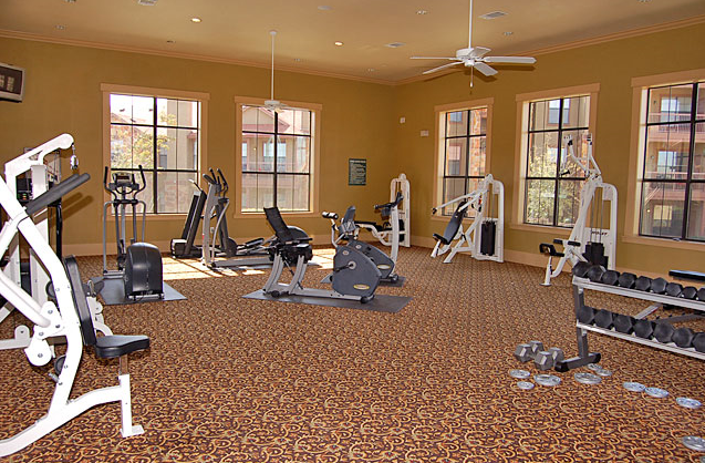 Victorian Quarters at Team Ranch Apartments Gym