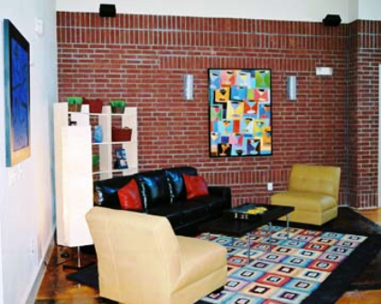 Broadstone Uptown Lofts in Houston with Exposed Brick Walls