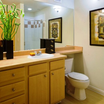 Bathroom at Regency Park Apartments