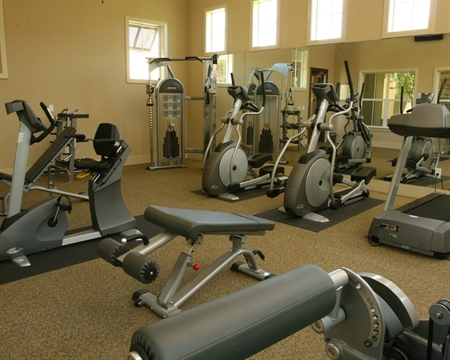 Fitness Center at Dallas Lakewood Apartments