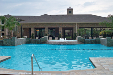 Katy Texas Apartments with Sparkling Pool