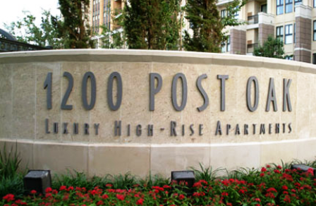 1200 Post Oak Luxury High Rise Apartments