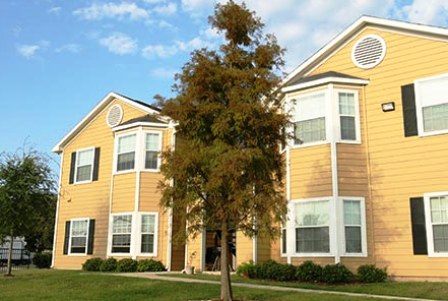 Exterior View of SoCo Apartments