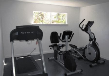 Gym at Terrace Creekside Apartments Austin, TX