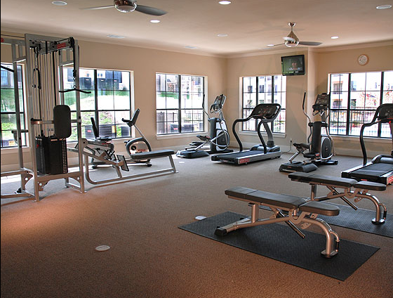 Fitness Center at Apartments in Round Rock