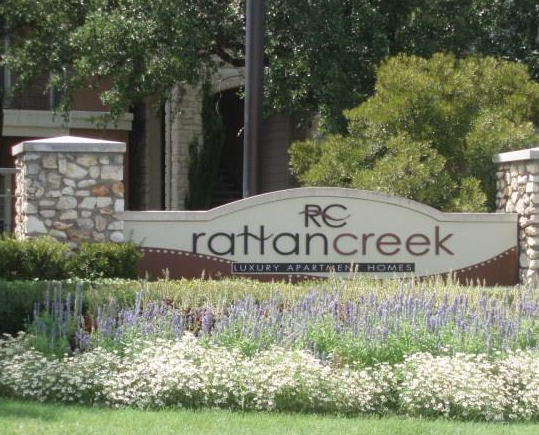 Entrance Sign at IMT Rattan Creek