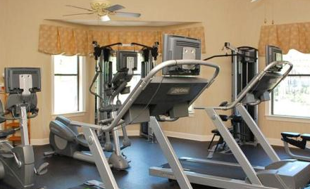 Fitness Center at these Webster Apartments