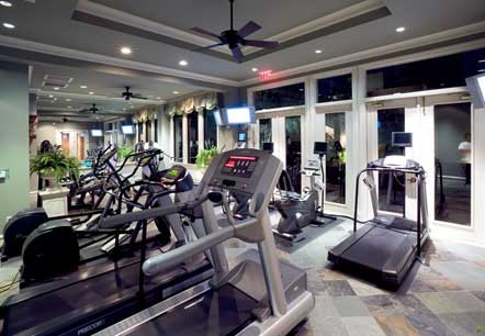 Fitness Center at Rienzi Turtle Creek Apartments