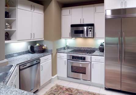 Kitchen at Rienzi Turtle Creek Apartments