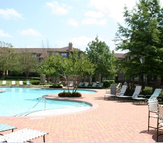Sparkling Pool at Frankford Springs Apartments
