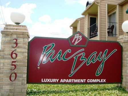 Exterior Sign at Parc Bay Apartments