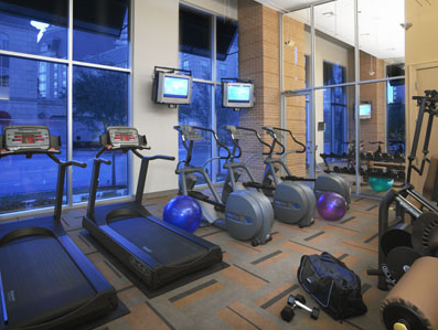 Fitness Studio at High Rises in Dallas, TX