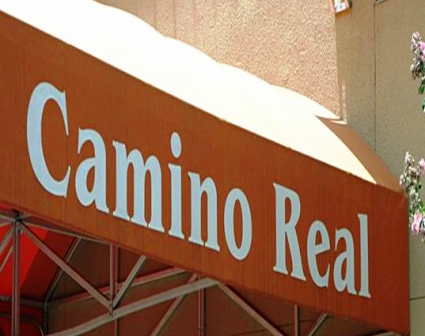 Camino Real Apartments Entrance