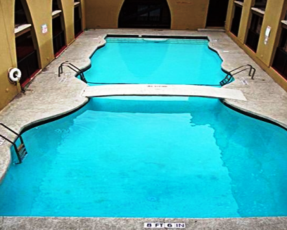 Sparkling Pool at Camino Real Apartments