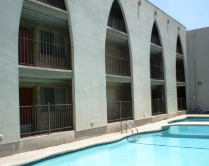 Pool View at Camino Real Apartments in Austin, TX