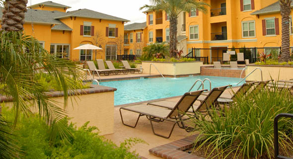 League City Apartments with Sparkling Pool