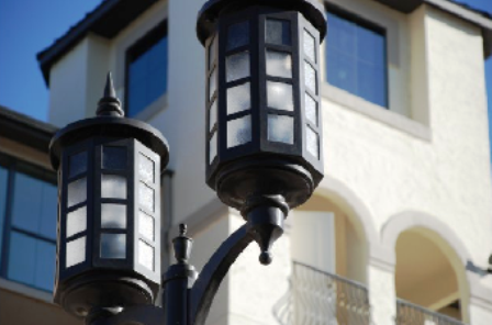 Street Lights at Artessa at Quarry Village Apartments