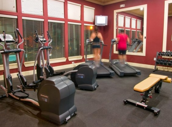 Fitness Center at Westside in The Village