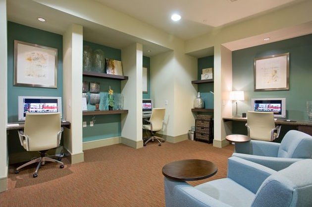 Hardwood Floors at Houston Medical Center Apartments