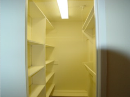 Spacious Closet Space at Chateaux Dijon Apartments