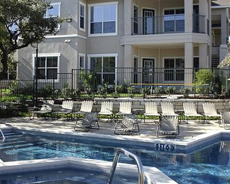 Pool View of Walker Ranch Apartments