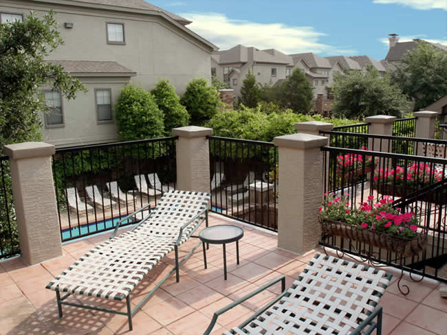 Reserve at Galleria Apartments Private Balconies