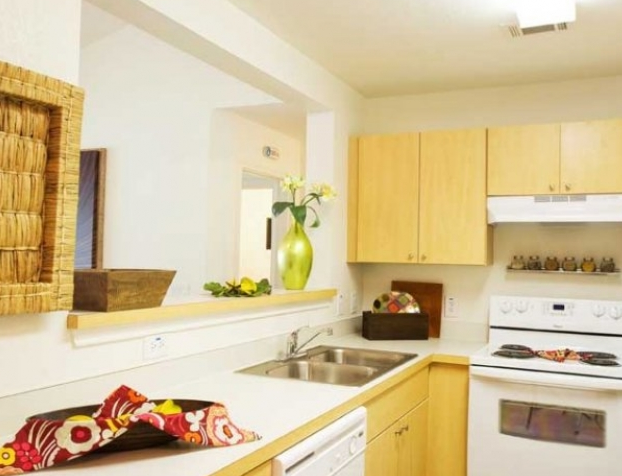 Gourmet Kitchens at these San Marcos TX Apartments