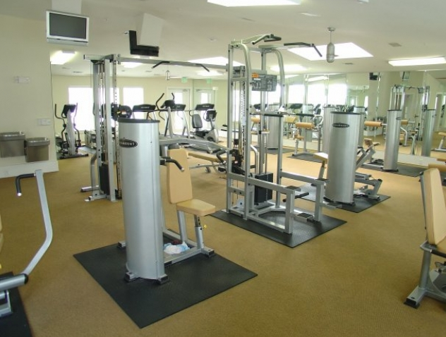 Fitness Center at these San Marcos Apartments