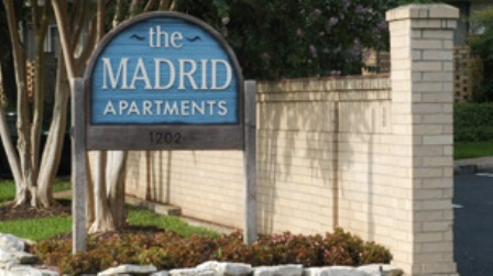 The Madrid Apartments Entrance