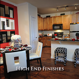 High End Finishes at Houston Galleria Apartments
