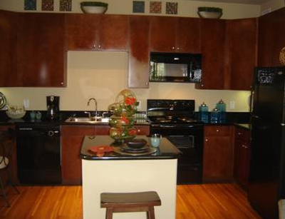 Gourmet Kitchens at these Missouri City TX Apartments