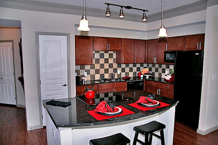Island Kitchens at Frisco TX Apartments