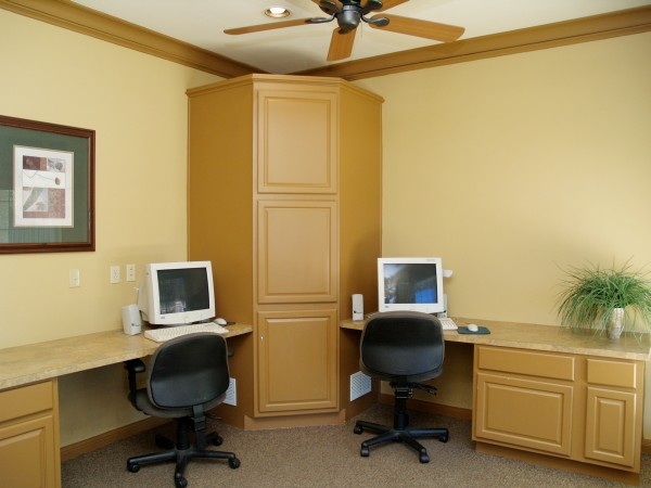 Computer Room at Chandler Creek Apartments