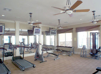 Gym at Gateway Park Apartments