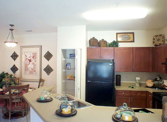 Gourmet Kitchens at Gateway Park Apartments