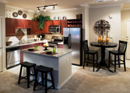 Gourmet Kitchens at Verde Riverwalk Apartments