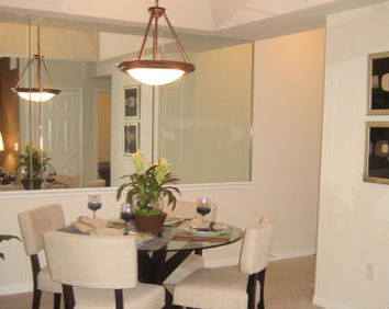 Dining Room at Broadstone Great Hills Apartments