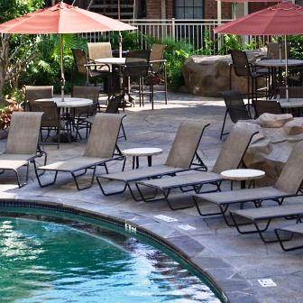 Majestic Pool Area at Galleria Oaks