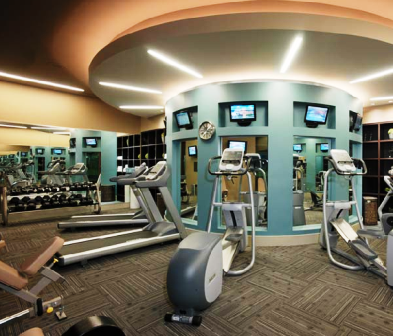 Ashton Austin Luxury Apartments Fitness Center ...