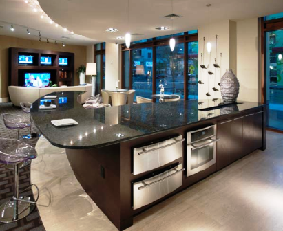 Gourmet Kitchens at Ashton Austin Luxury Apartments