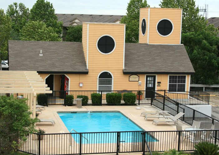 Exterior View of San Marcos Texas Apartments