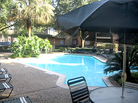 Webster TX Apartments with Pool Cabana