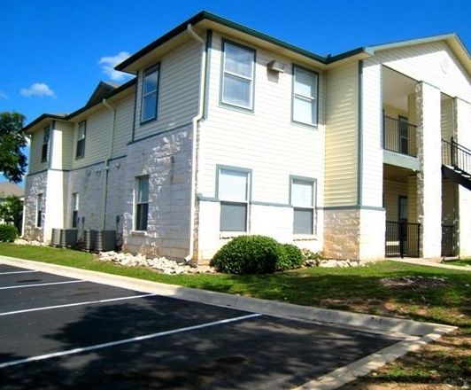 Cedar Park Apartments Exterior View