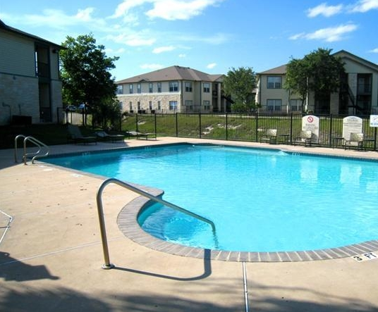 Pool View of Middle Brook Gardens Apartments