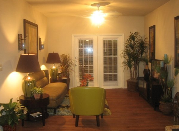 Hardwood Floors at these Apartments in Buda, TX