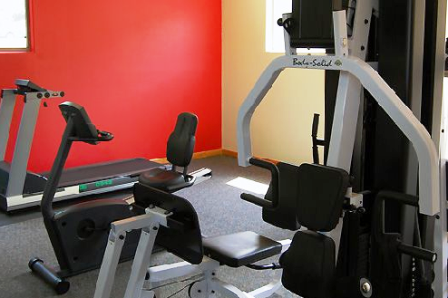 Gym at Park Terrace SoCo Apartments