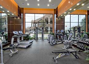 Elan At Bluffview Apartments Gourmet Kitchens Elan At Bluffview Apartments  Fitness Facility ...