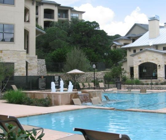 Pool View of North San Antonio TX Apartments